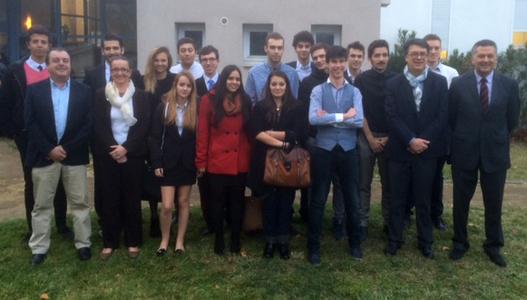 La 8ème promotion des étudiants EGC Tarbes-Pyrénées