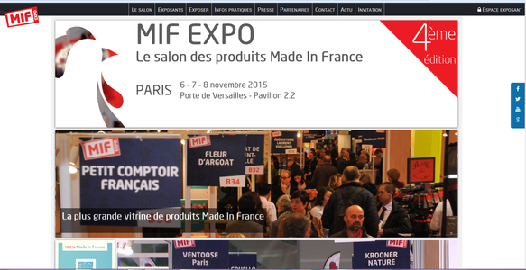 Made In France / OFrance au Salon de Paris