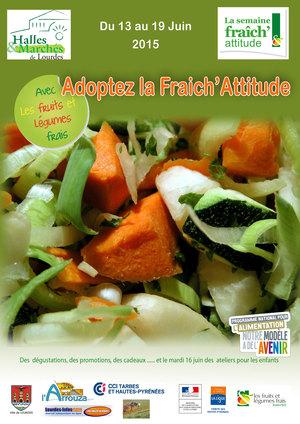 Semaine Fraîch' Attitude à Lourdes